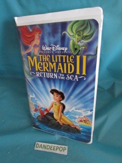 Walt Disney The Little Mermaid II, The: Return to the Sea (VHS, 2000) #WaltDisney #Disney #TheLittleMermaidII #Movie #VHS #ReturnToTheSea #dandeepop Find me at dandeepop.com