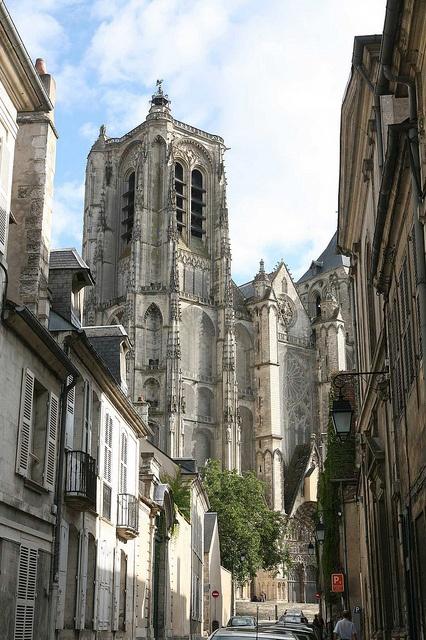 Cathédrale Saint-Etienne de Bourges #cathedrale #bourges #france