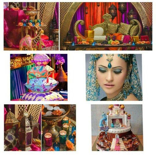 Indian inspired wedding !
