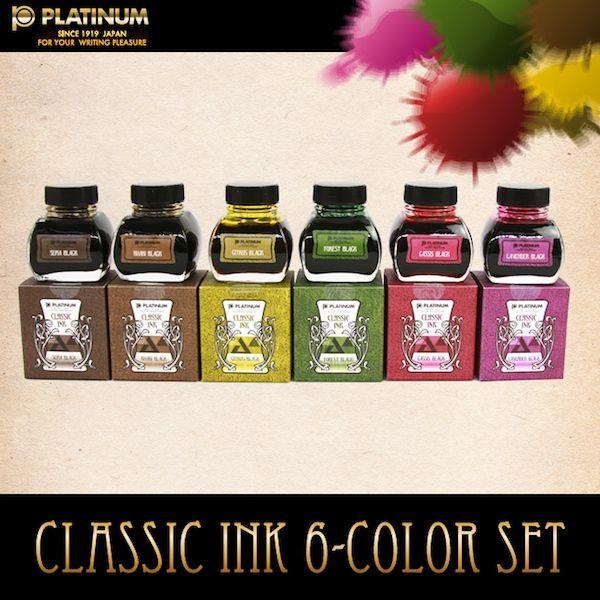 Platinum Classic ink