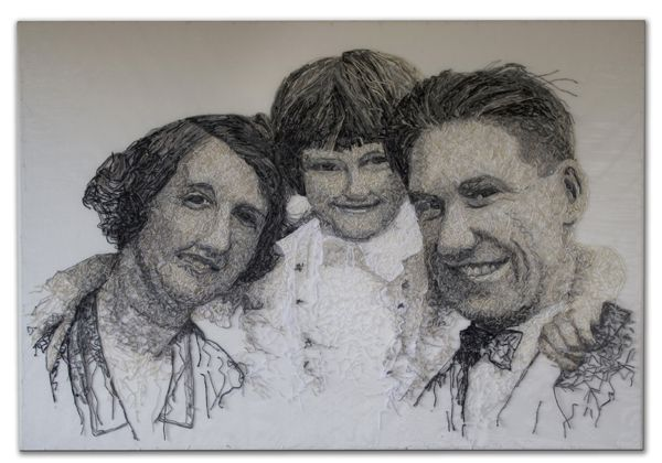 Dementia Darnings: MUm with her Parents