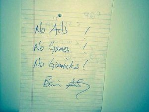 signed by Brian Acton of WhatsApp