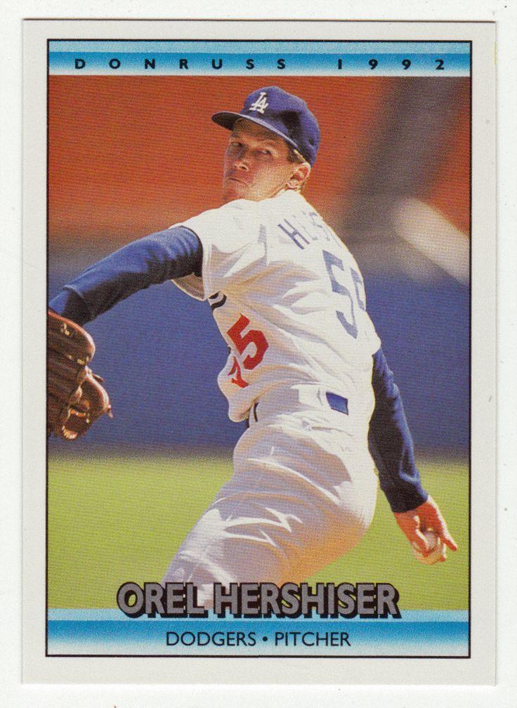 Orel Hershiser # 247 - 1992 Donruss Baseball