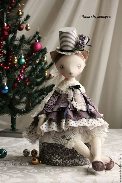 Мадлен. Авторская кукла. Анна Орляникова.
