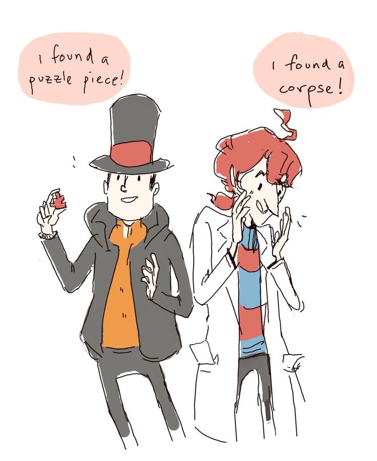 This just keeps making me laugh. Alfendi and Hershel Layton, and .... The things they love.