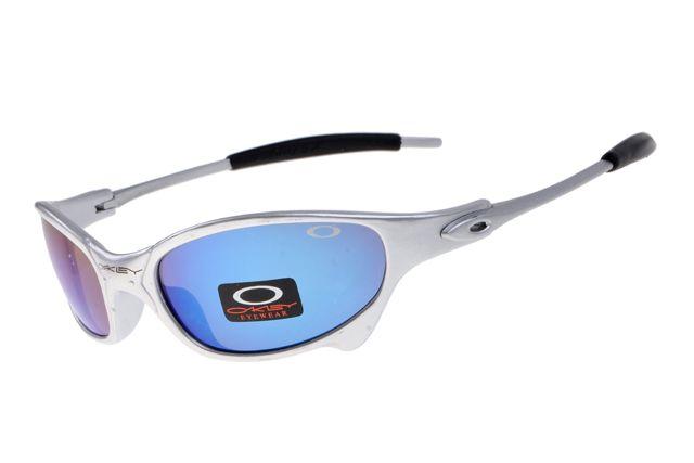 Oakley Juliet Black Silver Frame Colorful Lens 2005