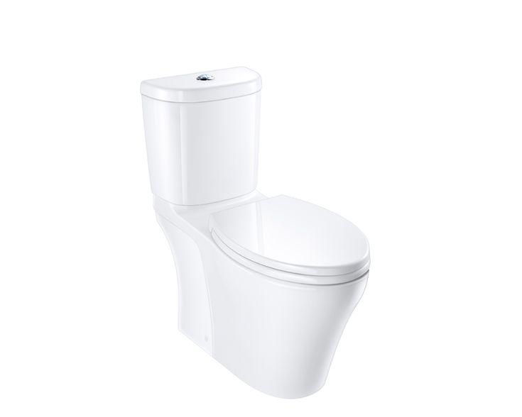 Somerton Smart Dual Flush Toilet Suite Caroma Usa Dual Flush Toilet Toilet Suites Somerton