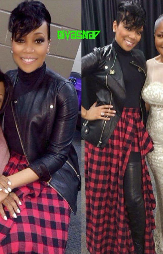 Fashion Diva Monica Brown Flawless Plaid Swagg Fashion