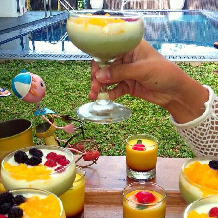 Green Tea Pudding  a happy moment at a luxury place The Peak Home Resort