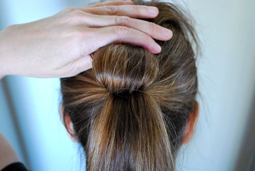 how to make a fake ponytail look real