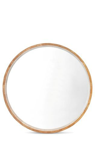 Buy Bamboo Circle Mirror from the Next UK online shop