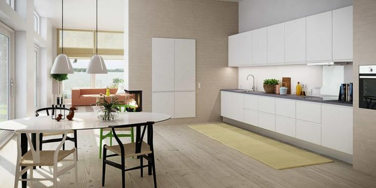 http://taizh.com/wp-content/uploads/2014/10/modern-kitchen-design-with-white-cabinet-storage-as-well-oval-white-dining-table-and-chair-as-well-white-pendant-lamps-and-cream-long-rug-on-wooden-floor.jpg