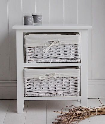 The White Cottage Bedside Tables Range Of Sizes And Styles For Your Country Cottage Bedroom