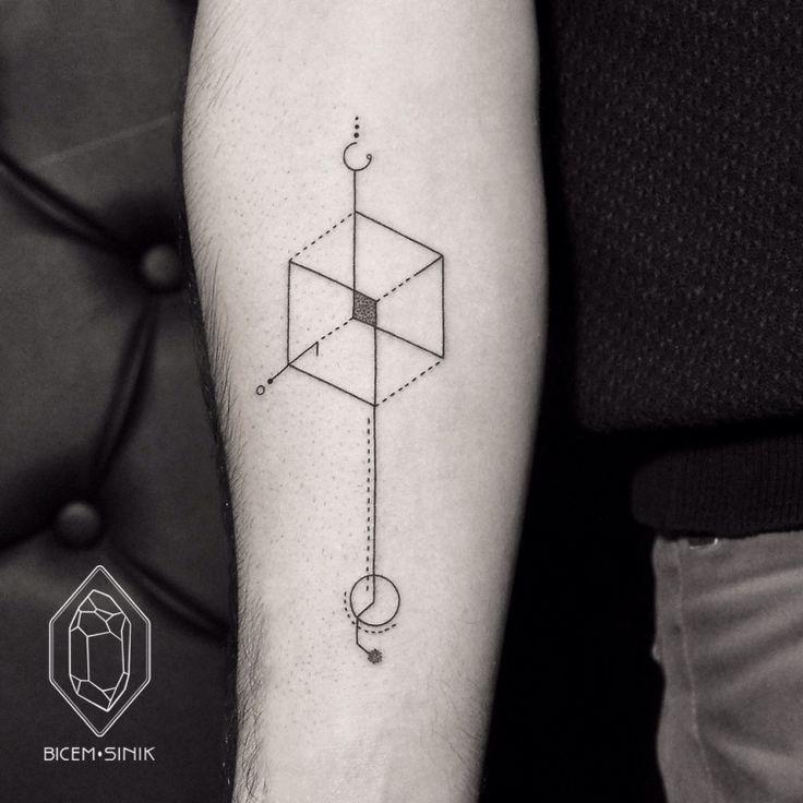 geometric tattoo2 by Bicem Sinik