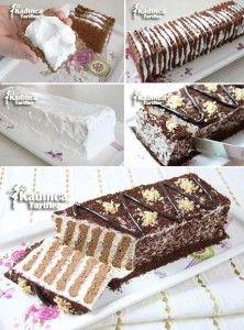 Üç Malzemeli Balerin Pasta Tarifi