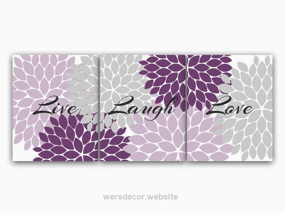 Purple and Grey Bedroom Decor, Live Laugh Love, INSTANT DOWNLOAD Bath Art, Bedro… Purple and Grey Bedroom Decor, Live Laugh Love, INSTANT DOWNLOAD Bath Art, Bedroom Wall Art, Printable Modern Bedroom Wall Decor – HOME70 on Etsy, ..  http://www.wersdecor.website/2017/04/30/purple-and-grey-bedroom-decor-live-laugh-love-instant-download-bath-art-bedro/