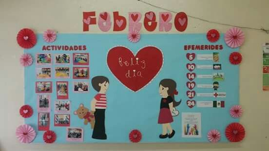 Periodico mural de febrero / february
