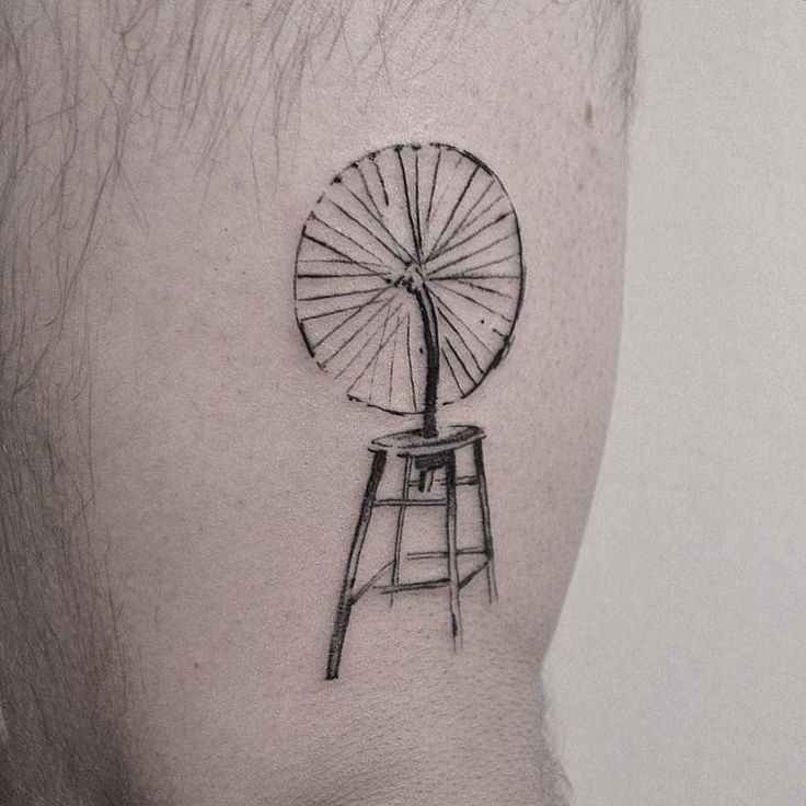 Bicycle Wheel by Marcel Duchamp, sure it was fun to make.