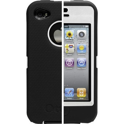 IPhone 4G Case (3 layers protection Defender Case for AT iphone 4G)  $20.00: Iphone Cases, Iphone 4S, Apples Iphone, Cell Phones, Otterbox Defender, White Plastic, Defender Cases, Otterbox Universe, Defender Series