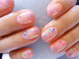 Beautiful jawbreaker nails