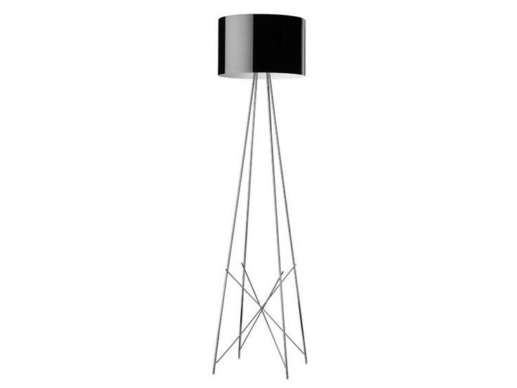 Floor Lamp: Ray F by Flos, design: Rodolfo Dordoni