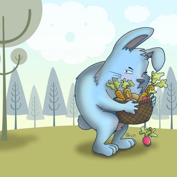Cuento a la vista: el conejo gruñón Esta semana os queremos presentar a un conejo de lo más gruñón, que sin embargo demostrará que tiene un buen corazón. El cuento habla de los prej...