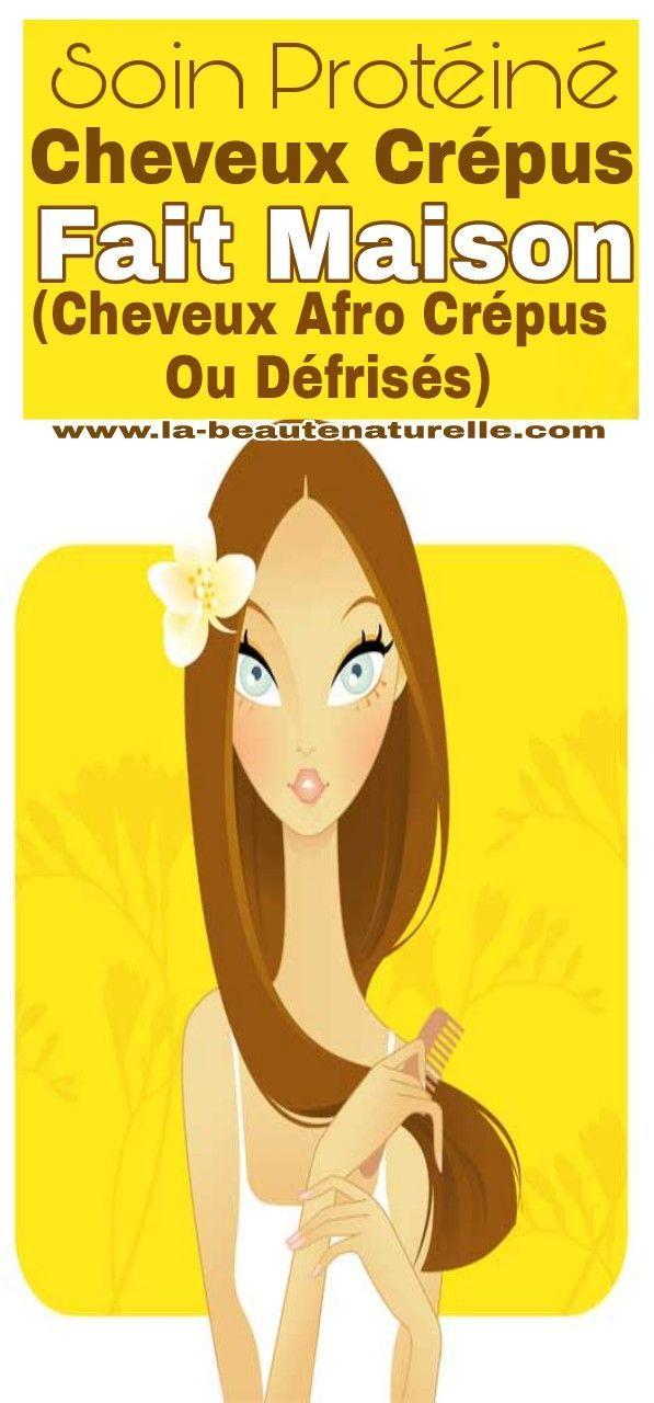 Protéines de cheveux crépues maison (cheveux afro crépus ou sans bretelles)   – schone Zopfe