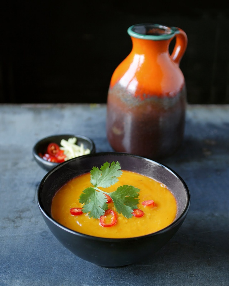 Spicy pumpkin soup | Vegetarian stuff | Pinterest