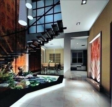 Best Living Room308 3D Model House Styles 3D Model Design 640 x 480