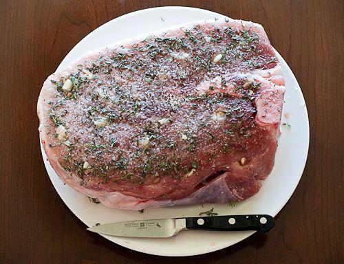 Pork ham steak crock pot recipe