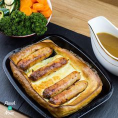 Autumn is officially here, so we decided to bring you one of our favourite comfort foods – Low Syn Toad In The Hole! We really hate the nights drawing in, summer came and went in no time at all. We used to have this as a rare Sunday treat when I was a kid during…