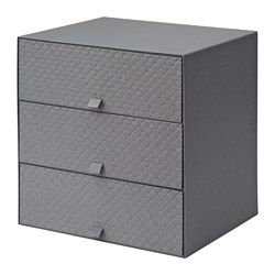 "PALLRA Mini chest with 3 drawers, dark gray - 12 ¼x10 ¼x12 ¼ "" - IKEA"