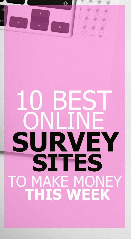 10 Online Survey Sites That Pay Big