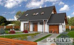 Všechny projekty rodinných domů - stránka 3 | GSERVIS