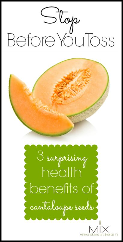 Stop Before You Toss 3 Surprising Health Benefits of Cantaloupe Seeds | www.mixwellness.com #health #greenliving