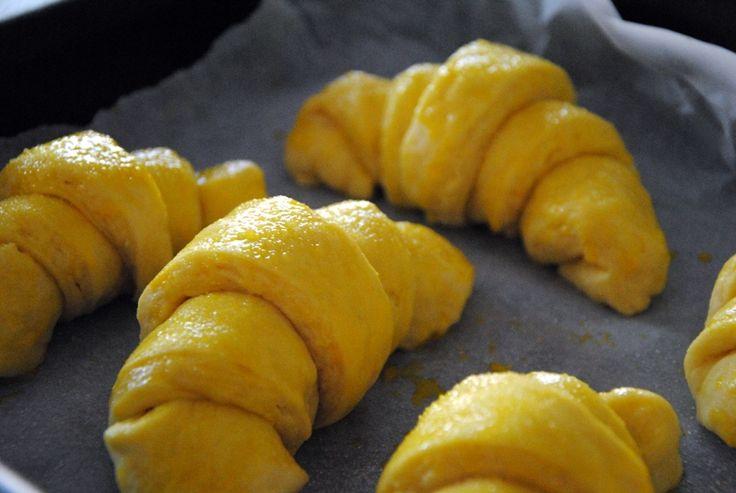 croissant prima del forno