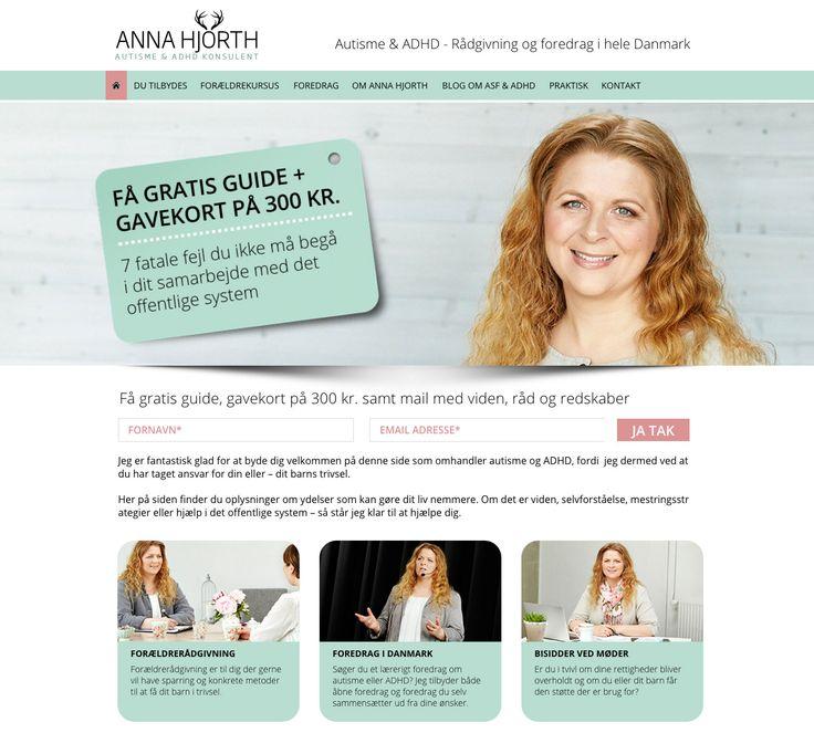 Endnu en Wordpress hjemmeside kom i luften: http://www.anna-hjorth.dk/
