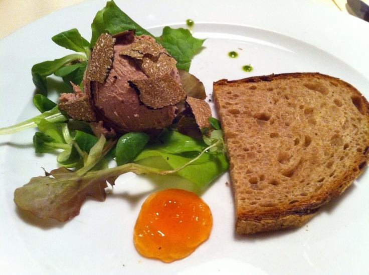 Foies grass @ Antica Trattoria del Gallo - Vigano di Gaggiano