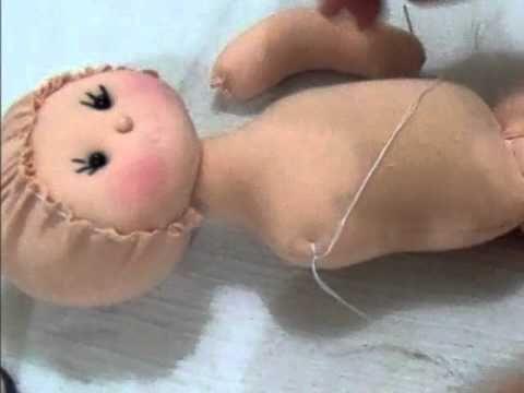 Passo a passo boneca de pano parte 2