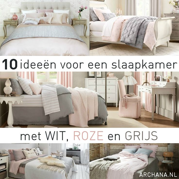 25 beste idee n over grijs roze slaapkamers op pinterest roze grijze slaapkamers roos - Grijze slaapkamer ...