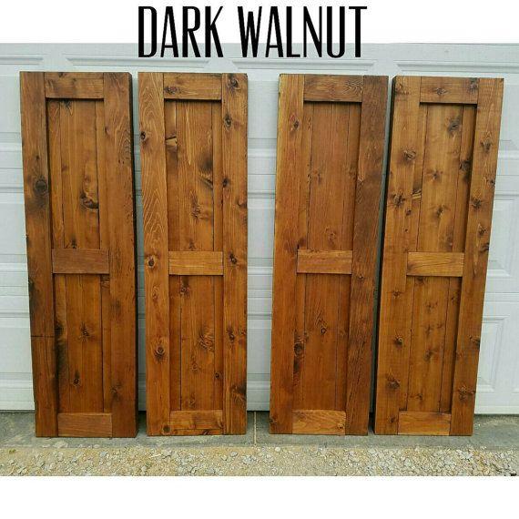 cedar shutters custom shutters outdoor shutters exterior wood shutters