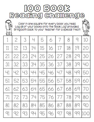 End of the Year FUN Unit (SAMPLE PAGE) Students are challenged to read 100 books over the summer or anytime of the year. Book log is included.
