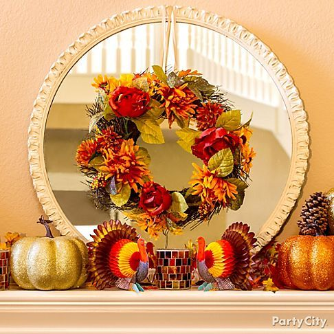 17 best images about fall decor on pinterest fall home for Thanksgiving home decorations pinterest