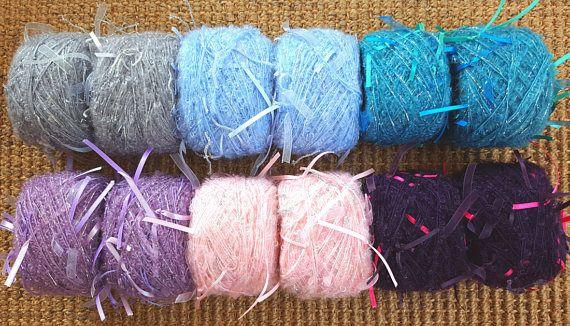Mohair yarn crochet yarn knitting yarn weaving yarn art