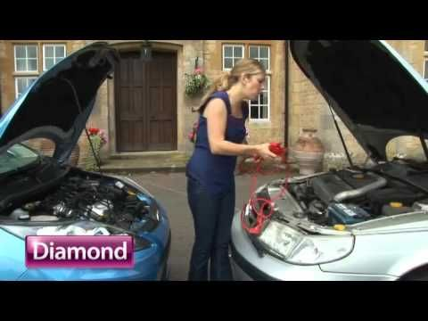 Jumpstarting your car - Diamond car insurance... shaped for you. - YouTube