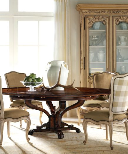 Marseille Collection Dining Table And Chairs Showroom Details Henredon Interior Design
