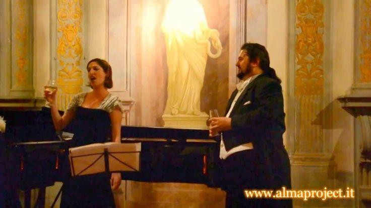 """ALMA PROJECT @ Villa Corsini - DR Tenor, LD Soprano & LB Piano - """"Brindisi"""" from Traviata, G.Verdi"""