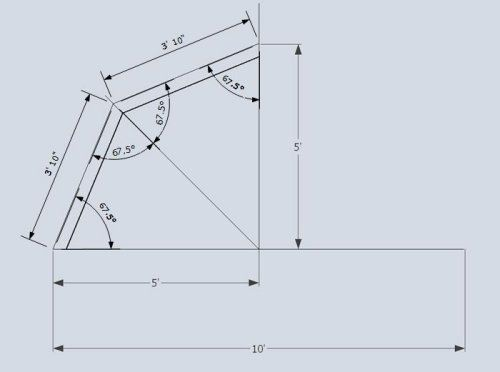 gambrel 2x4 truss measurements defined diy shed roof truss