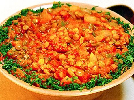 Linsgryta med tomat, morot och paprika | Recept från Köket.se