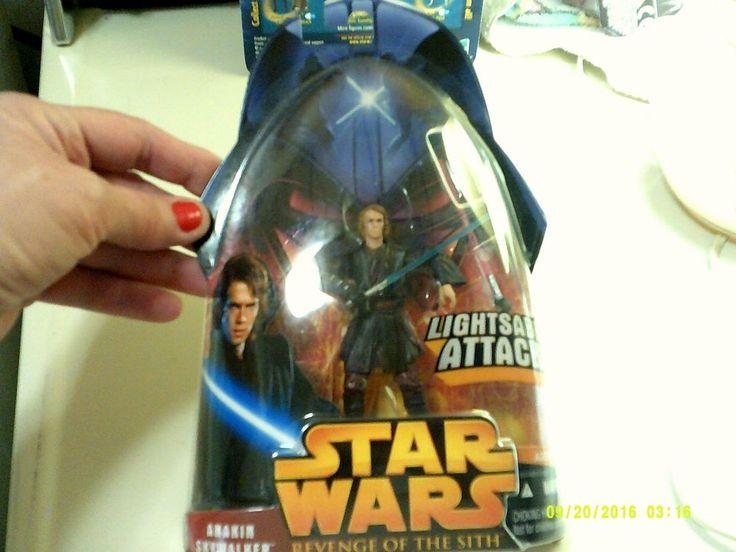 Star Wars Anakin Skywalker Revenge of the Sith LightSaber Attack